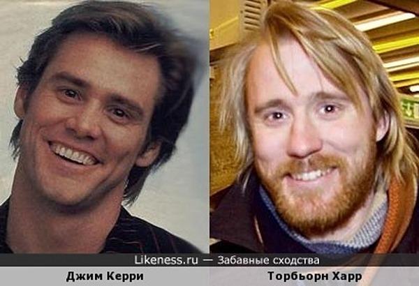 Джим Керри -Торбьорн Харр