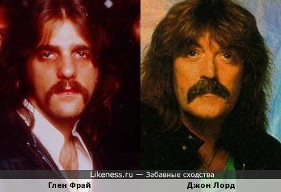 """Глен Фрай ("""" Eagles"""") - Джон Лорд ("""