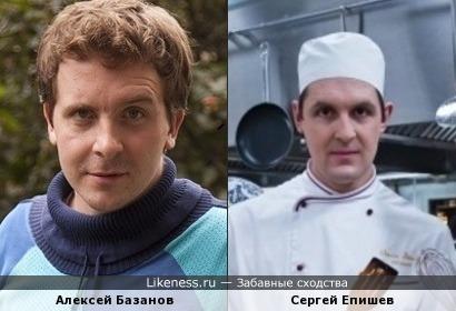 Алексей Базанов - Сергей Епишев