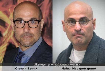 Стэнли Туччи - Майкл Мастромарино
