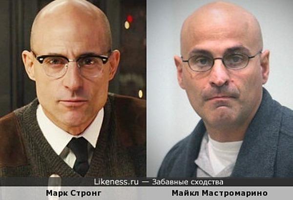 Марк Стронг - Майкл Мастромарино