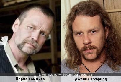 Йорма Томмила - Джеймс Хэтфилд