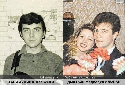 """Тони Айомми - Дмитрий Медведев (""""Рокот"""")"""