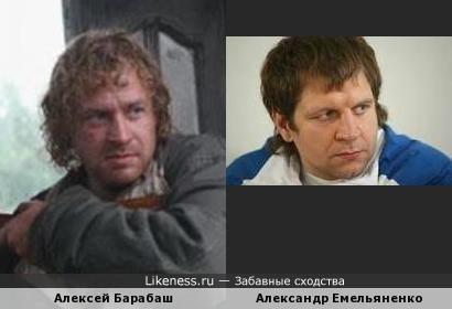 Алексей Барабаш - Александр Емельяненко