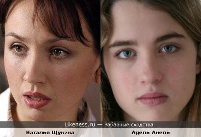 Наталья Щукина vs Adele Haenal