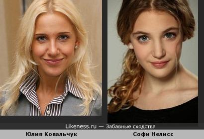 Юлия Ковальчук vs Софи Нелисс