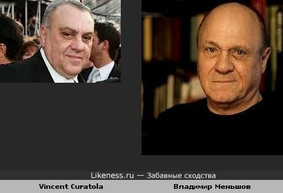 Vincent Curatola похож на Владимира Меньшова