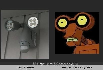 фонарь и мульт