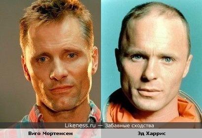 Виго Мортенсен и Эд Харрис