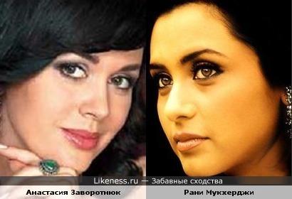 Анастасия Заворотнюк и Рани Мукхерджи