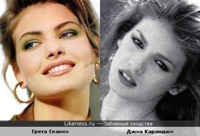 Грета Скакки напоминает Джиу Каранджи