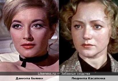 Даниэла Бьянки похожа на Людмилу Касаткину