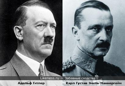 Маннергейм напоминает Гитлера