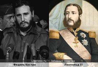 Кубинский революционер похож на короля бельгийцев