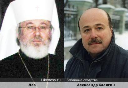 Архиепископ Лев (Лео Макконен) похож на Александра Калягина