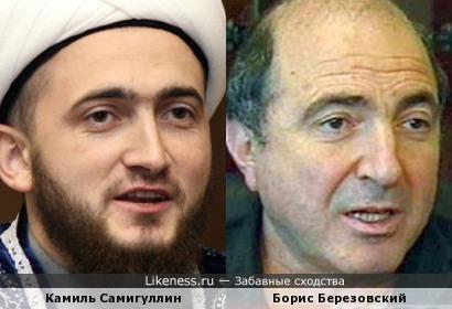 Камиль Самигуллин похож на Бориса Березовского