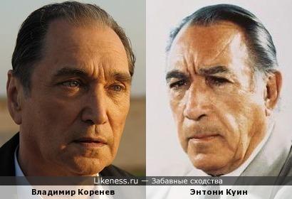 Влоадимир Коренев и Энтони Куин