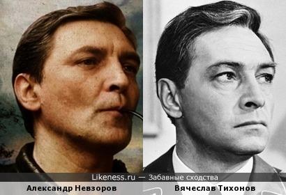 Александр Невзоров похож на Вячеслава Тихонова