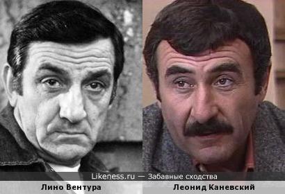 Лино Вентура похож на Леонида Каневского