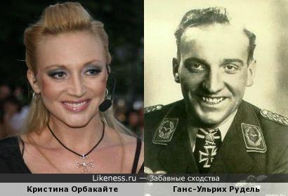 Кристина Орбакайте не только похожа на Руделя, но ещё и имидж с него скопировала