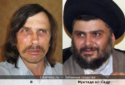 Муктада ас-Садр похож на меня, как сын на отца