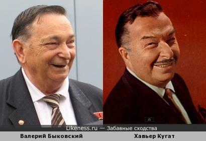 Валерий Быковский похож на Хавьера Кугата