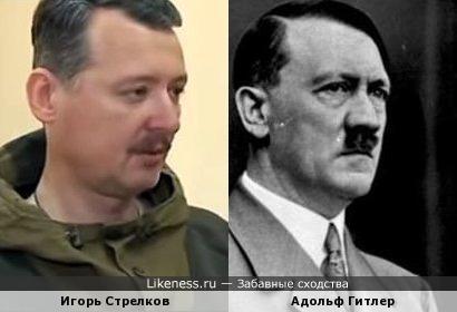 Игорь Стрелков похож на Гитлера