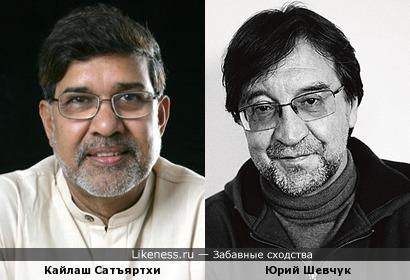 Кайлаш Сатъяртхи похож на Юрия Шевчука, как сын на отца
