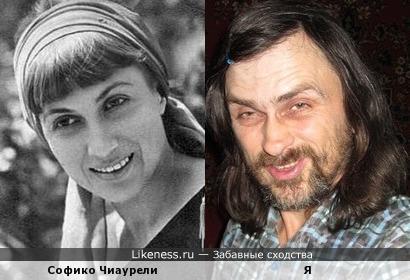 Софико Чиаурели похожа на меня, как дочь на отца