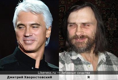 Цыганские лица: Дмитрий Хворостовский и я