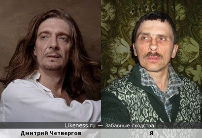 Дмитрий Четвергов похож на меня