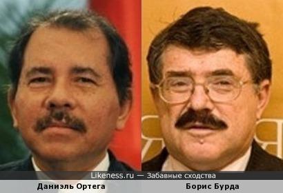 Борис Бурда и Даниэль Ортега