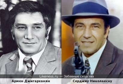Армен Джигарханян напоминает комиссара Миклована