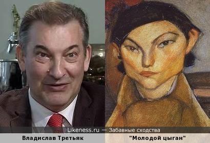 """Картина """"Молодой цыган"""