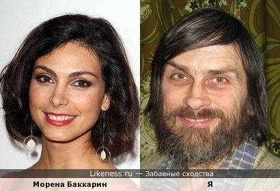 Морена Баккарин похожа на меня, как дочь на отца (вторая попытка)
