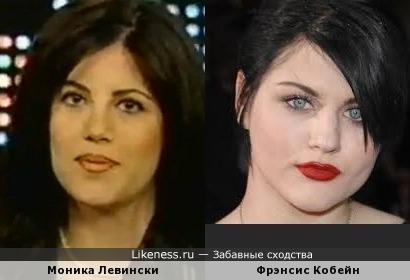 Дочь Курта Кобейна похожа на Монику Левински