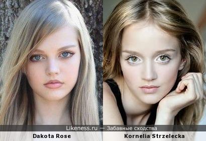 Дакота и Корнелия похожи