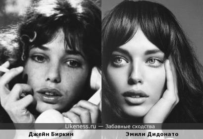 Эмили Дидонато похожа на Джейн Биркин