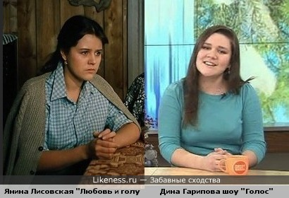 """Удивительное сходство победительницы шоу """"Голос"""" и Людки из фильма """"Любовь и Голуби"""""""