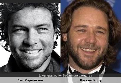 Сэм Уортингтон и Рассел Кроу