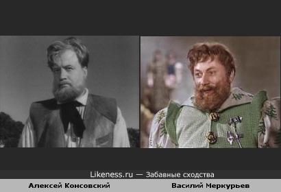 """Принц из """"Золушки"""" спустя 17 лет в роли хозяина-волшебника (Обыкновенное чудо) вылитый лесничий, отец Золушки."""