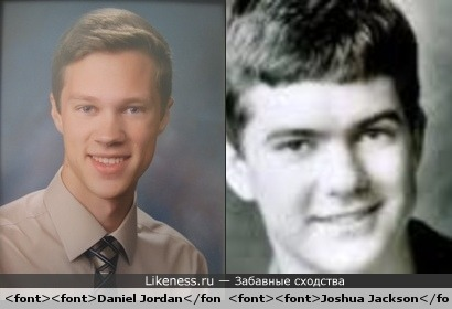Daniel Jordan looks like Joshua Jackson