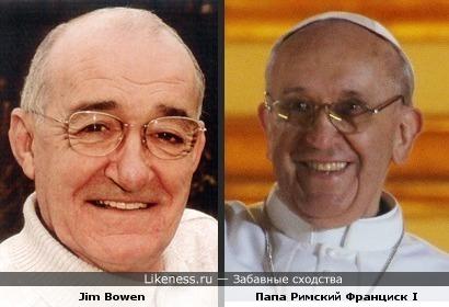 Британский комик и Римский Папа
