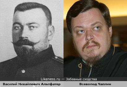 контр-адмирал Русского Императорского флота и протоиерей