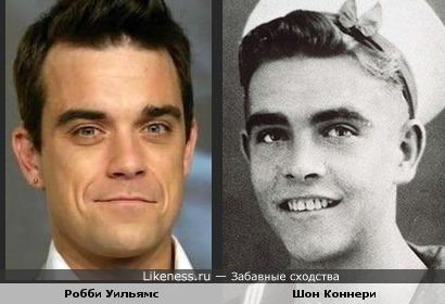 Не умеет Уильямс нормально улыбаться, а то стал бы копией молоденького Шона Коннери