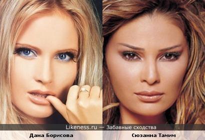 Ливанская певица похожа российскую телеведущую