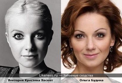 """Виктория Кристина Хескет (""""Little boots"""") - еще один двойник Ольги Будиной"""