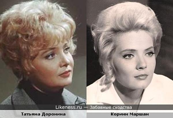 Французская актриса напомнила Татьяну Доронину