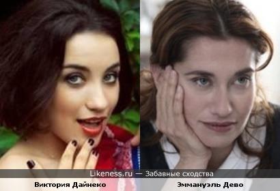 Эммануэль Дево и Виктория Дайнеко