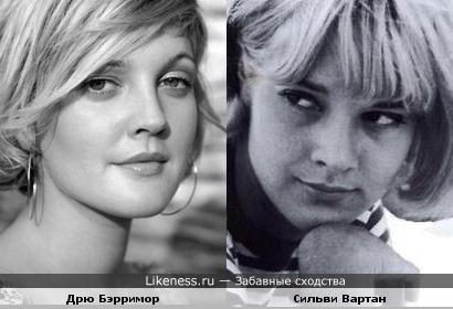 Звезда французского варьетте Сильви Вартан - актриса с множеством лиц. Юность.